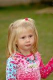 Child thoughtful Stock Image