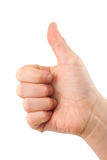 Child thumb up Stock Images