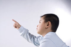 Child touch Royalty Free Stock Photo