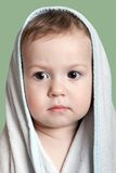 Child in towel Royalty Free Stock Photos