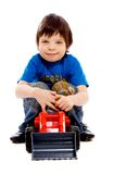 Child with toy Royalty Free Stock Photo