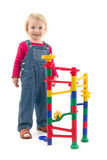 Child with toy Stock Photo
