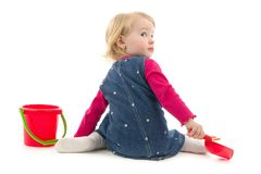 Child with toy Royalty Free Stock Images