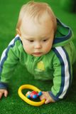 Child with a toy Stock Images