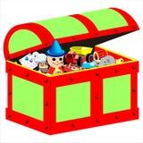 Child toy box Royalty Free Stock Photos