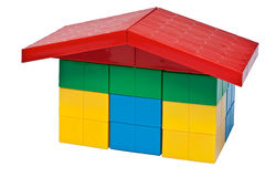 Child toy - house Royalty Free Stock Photography