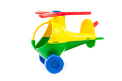 Child toy. In isolated white background. A close up Royalty Free Stock Image