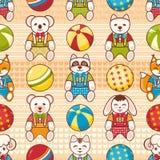 Child toy seamless pattern. Design element Stock Photo