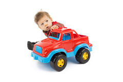 Child and toy Stock Photos