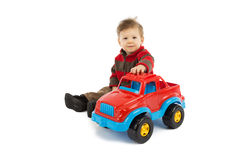 Child and toy Stock Photography