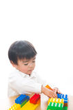 Child and toys Royalty Free Stock Image