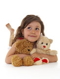 Child with toys Stock Photo