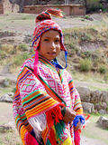 Child in traditional clothing Stock Image
