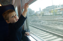 Child Train travel Royalty Free Stock Photo