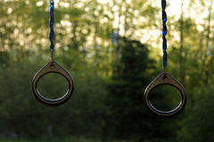 Child Trapeze Rings Royalty Free Stock Photography