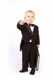 Child in a tuxedo Stock Photos