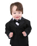 Child tuxedo four Stock Image