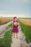 Child in Ukrainian national costume Stock Photos