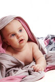 Child under the fabric 2 Royalty Free Stock Photography