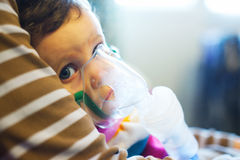 Child under medical treatment