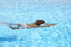 Child underwater Stock Image