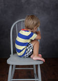 Child Unhappy about School Stock Photos