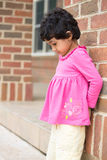 Child Upset Due to Getting Time Out. Child Upset or Sad Due to Getting Time Out Royalty Free Stock Photography