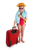 Child on vacation Stock Images
