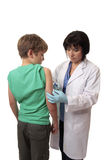 Child vaccination Royalty Free Stock Images