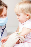Child vaccination Royalty Free Stock Photos