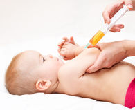 Child vaccination Royalty Free Stock Photo