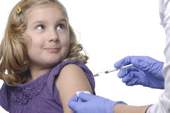 Child vaccinations. royalty free stock image