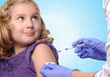 Child vaccinations. Royalty Free Stock Photo