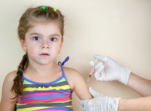Child vaccinations Royalty Free Stock Photos