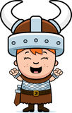 Child Viking Excited Royalty Free Stock Image
