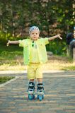 The child on walk Royalty Free Stock Photo