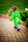 Child walking Royalty Free Stock Images