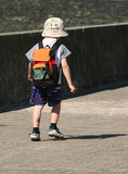 Child Walking Alone Stock Photos