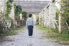 Child walking Stock Images