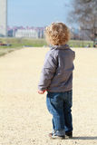 Child in Washington DC Royalty Free Stock Image