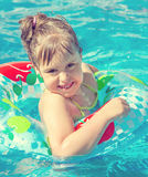 Child in water Royalty Free Stock Images