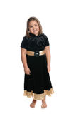 Child Wearing Dress Royalty Free Stock Photography