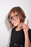 Child wearing glasses Royalty Free Stock Image