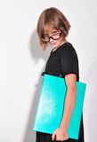 Child wearing glasses Royalty Free Stock Photo