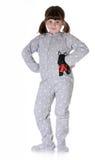 Child wearing pajamas Royalty Free Stock Photography
