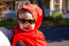 Child Wearing Sunglasses Stock Photography