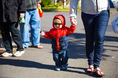 Child Wearing Sunglasses Royalty Free Stock Image
