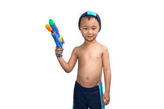 Child wearing swimsuit Royalty Free Stock Photography