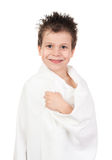 Child with wet hair Stock Photography