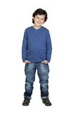 Child whit blue shirt Stock Photo